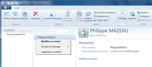 how to move windows mail contacts to windows live mail