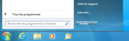 menu Démarrer, Windows Live Mail
