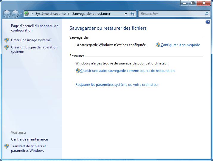 Restauration Du Systeme Windows 7 Aidewindows Net
