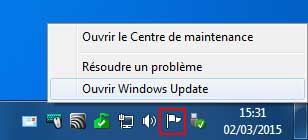 Windows 7 - Icone Maintenance