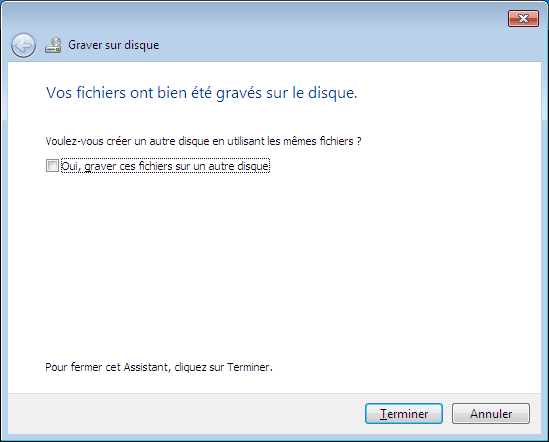 Windows 7 : Gravure