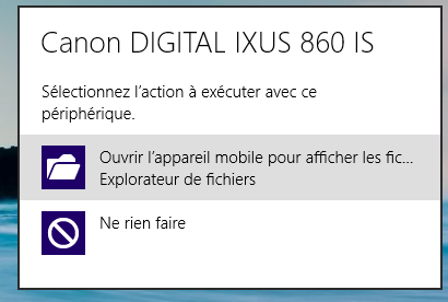 Windows 8 : Importer photos et vidéos