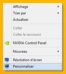 Windows 8 : Personnaliser