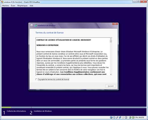 Windows 8 - Installation 4