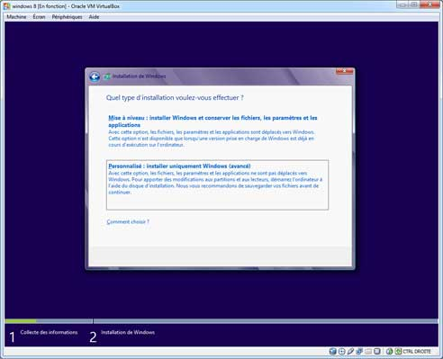 Windows 8 - Installation 5