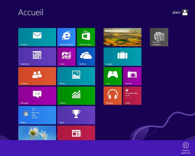 Windows 8 : Applications