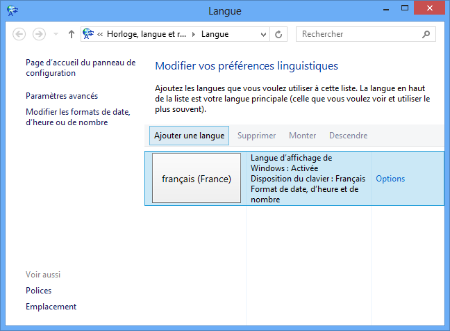 Windows 8 installation avanc e for Fenetre dos windows 8
