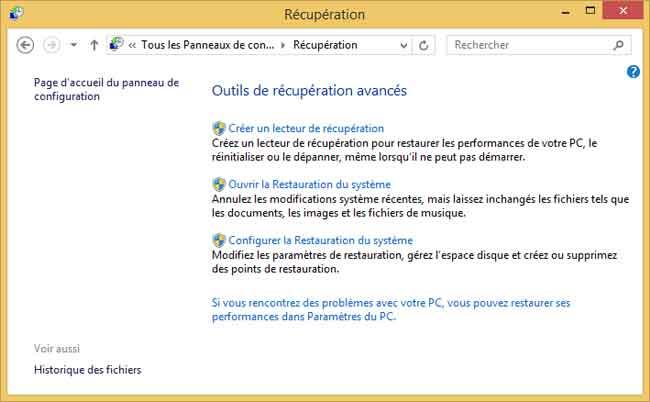votre ordinateur a rencontré un problème windows 8