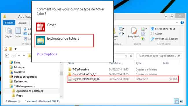 Windows 8 Utilisation Decompresser Un Fichier Zip Aidewindows Net