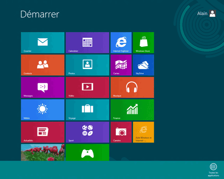 Windows 8 : Metro - Applications