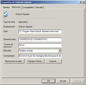 comment reparer outlook 6
