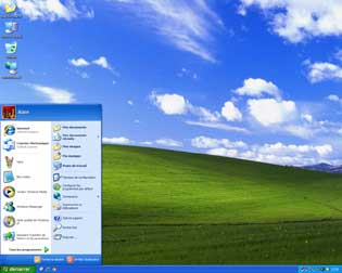 Le Bureau sous Windows XP